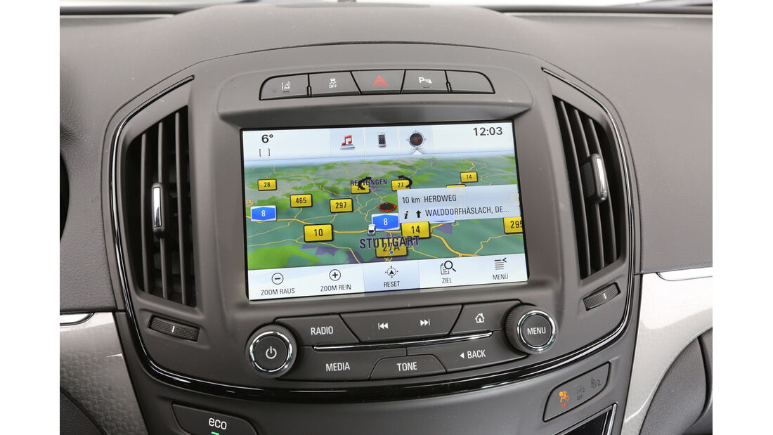 Opel Insignia Sports Tourer 2.0 BiT CDTi, Navi, Bildschirm