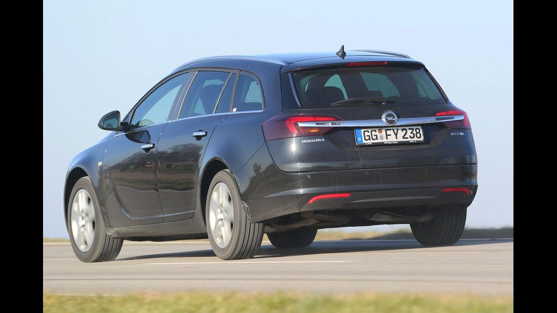 Opel Insignia Sports Tourer 2.0 CDTI, Heckansicht