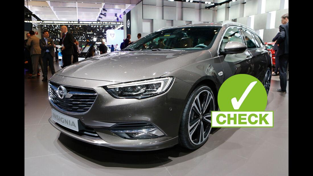 Opel Insignia Sports Tourer 2017 Autosalon Genf Sitzprobe