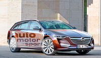 Opel Insignia Sports Tourer, Frontansicht