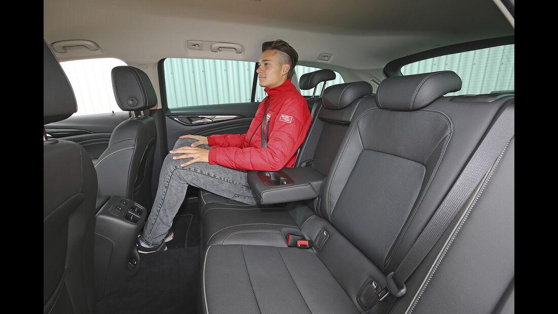 Opel Insignia Sports Tourer, Interieur