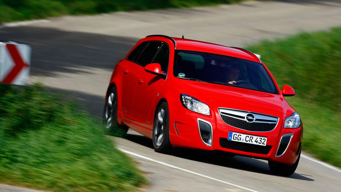 Opel Insignia Sports Tourer OPC, Frontansicht