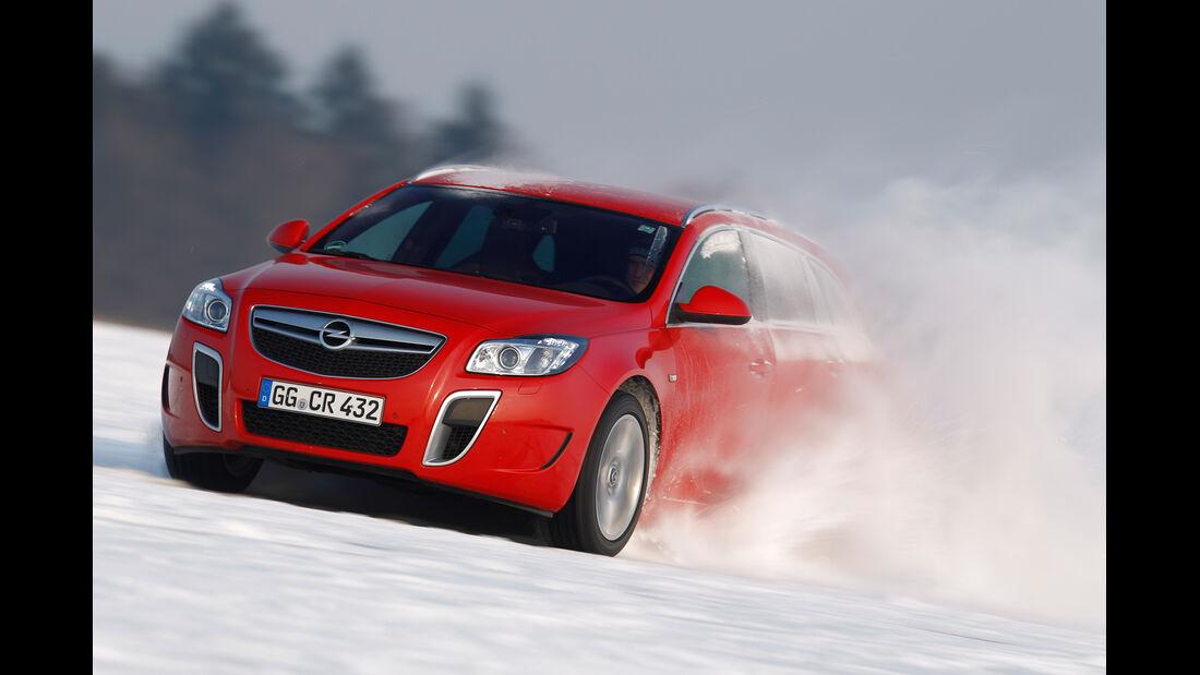 Opel Insignia Sports Tourer OPC, Frontansicht, Driften