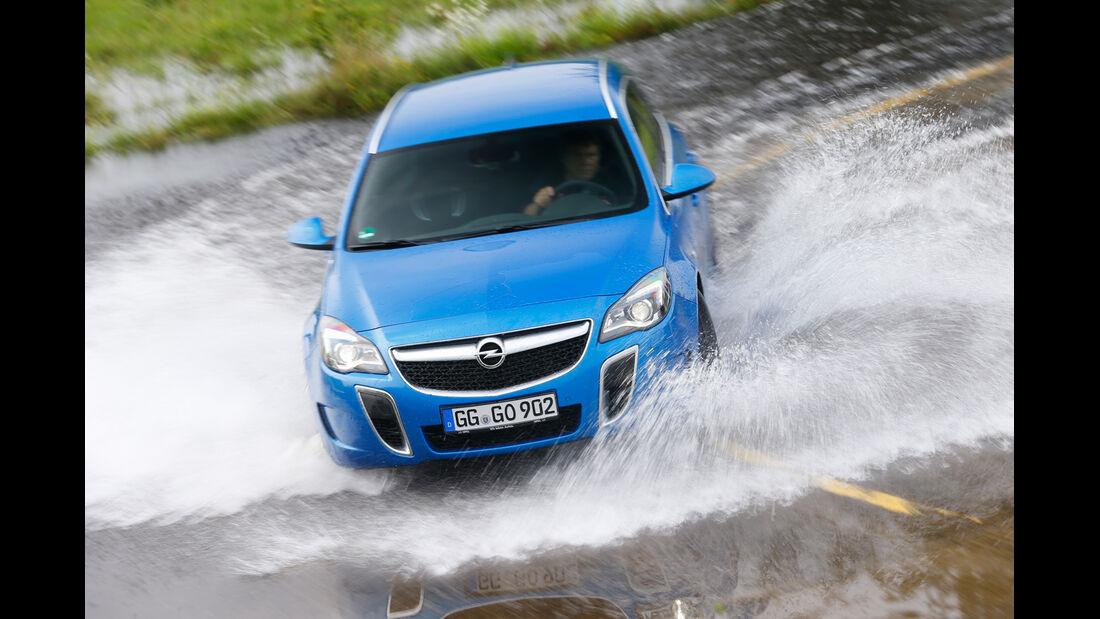 Opel Insignia Sports Tourer OPC, Frontansicht, Wasserdurchfahrt