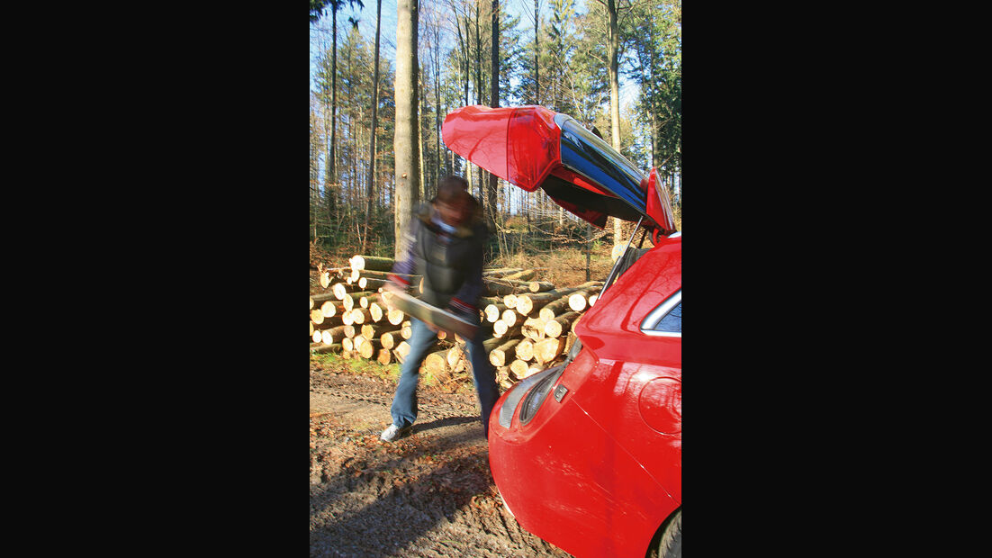 Opel Insignia Sports Tourer OPC, Kofferraum