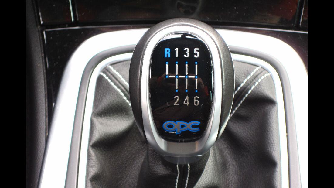 Opel Insignia Sports Tourer OPC, Schalthebel, Schaltknauf