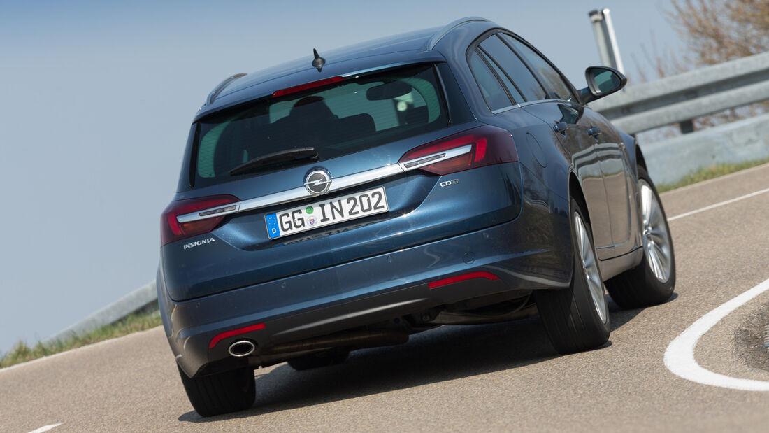 Opel Insignia Sports Tourer S.T. 2.0 CDTI, Heckansicht