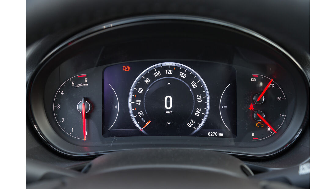 Opel Insignia Sports Tourer S.T. 2.0 CDTI, Rundinstrumente