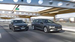 Opel Insignia Sports Tourer, Volvo V60