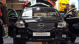 Opel Insignia beim Händler