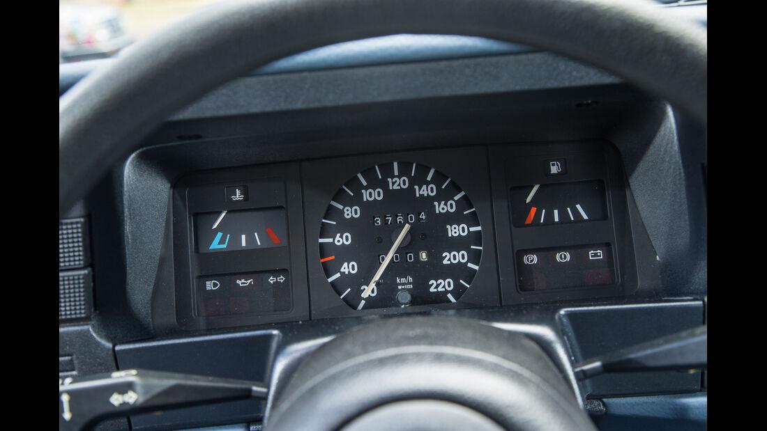 Opel Kadett 1.6i, Rundinstrumente