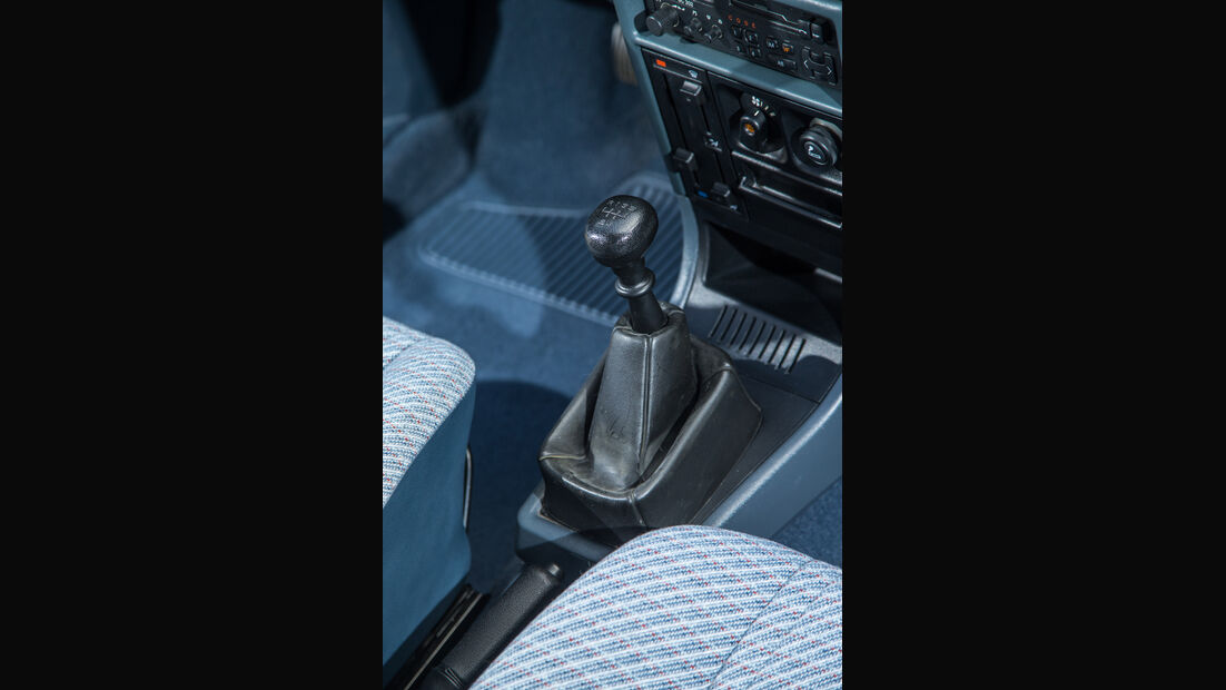 Opel Kadett 1.6i, Schalthebel