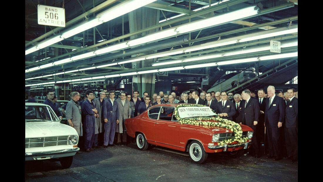 Opel Kadett - 10-millionster Kadett