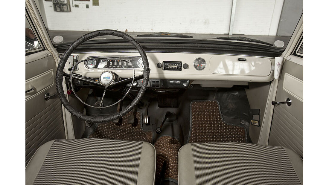 Opel Kadett A, Cockpit