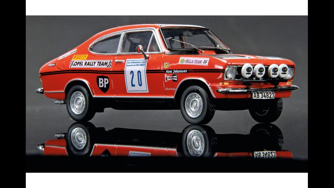 Opel Kadett B Coupé RAC-Rallye im Maßstab 1:43
