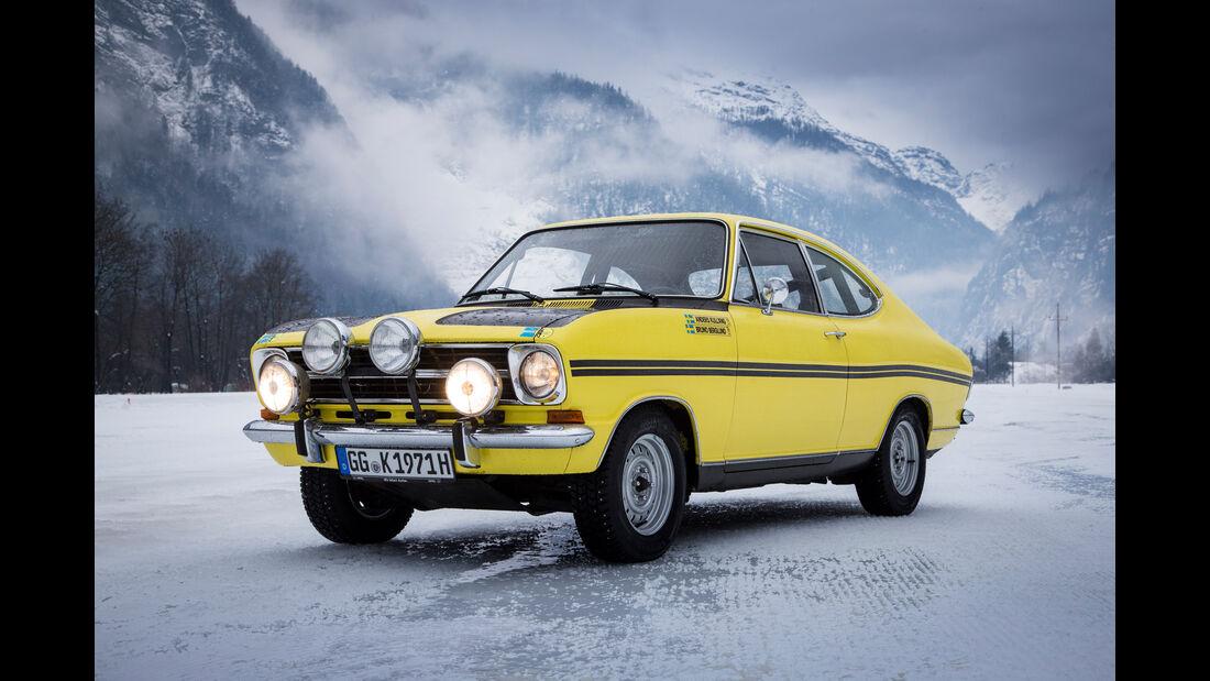 Opel Kadett B Coupé Rallye, Frontansicht
