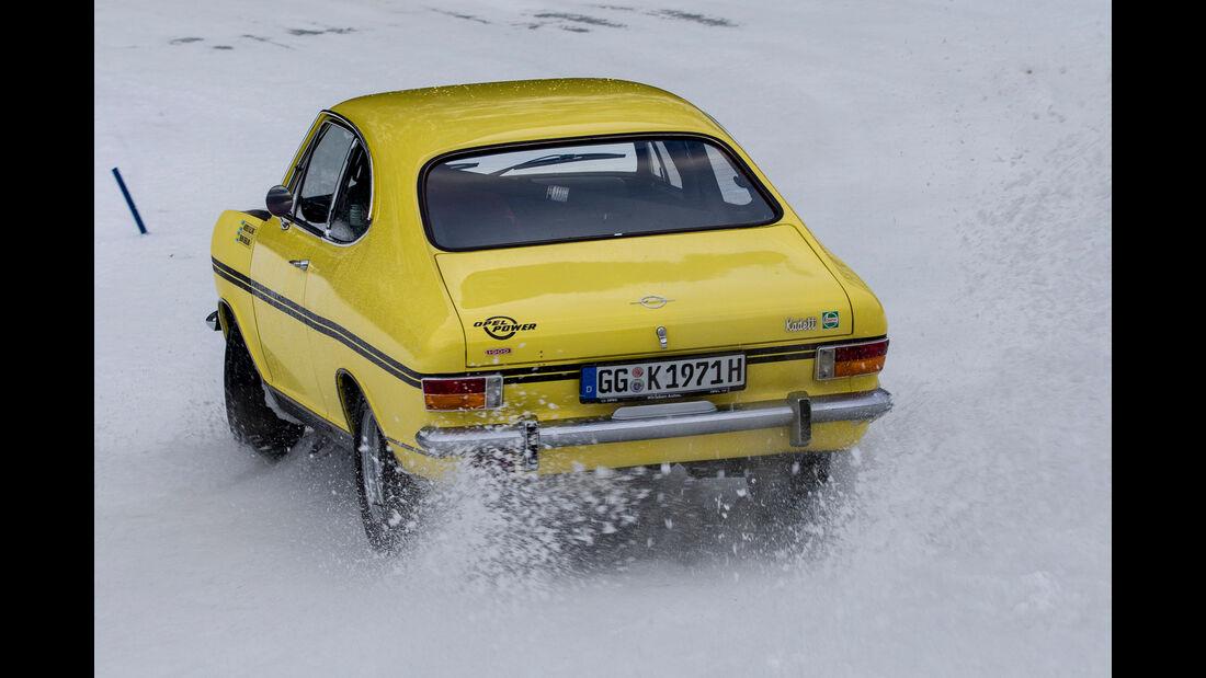 Opel Kadett B Coupé Rallye, Heckansicht