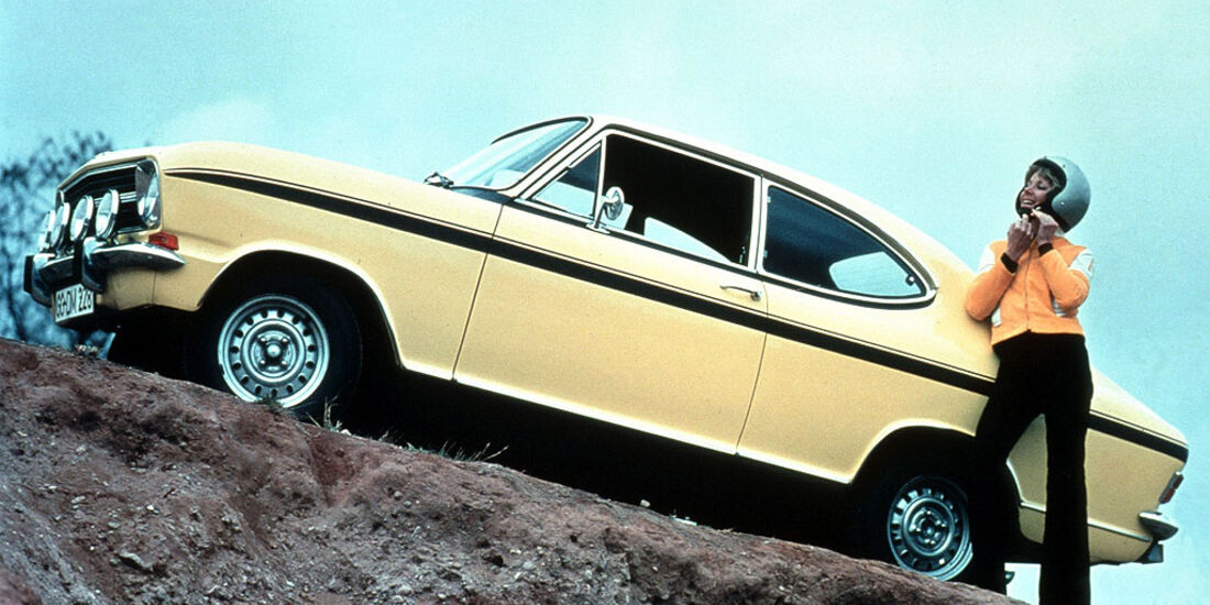 Opel Kadett B Coupé Rallye LS