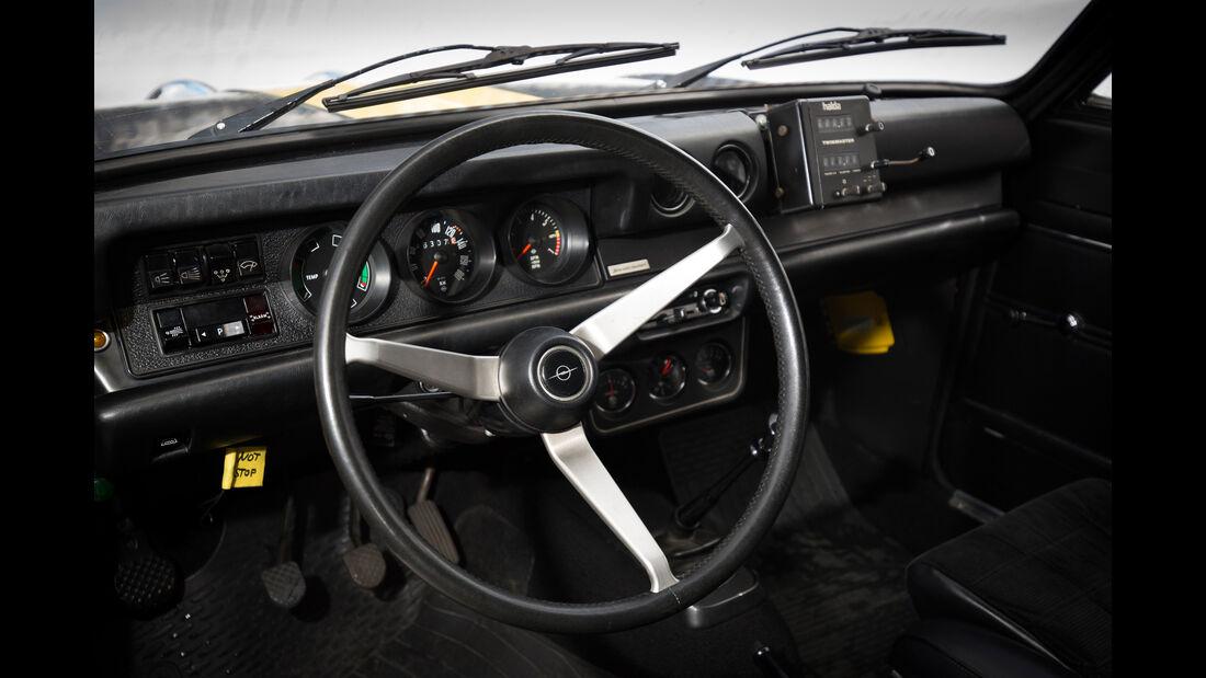 Opel Kadett B Coupé Rallye, Lenkrad