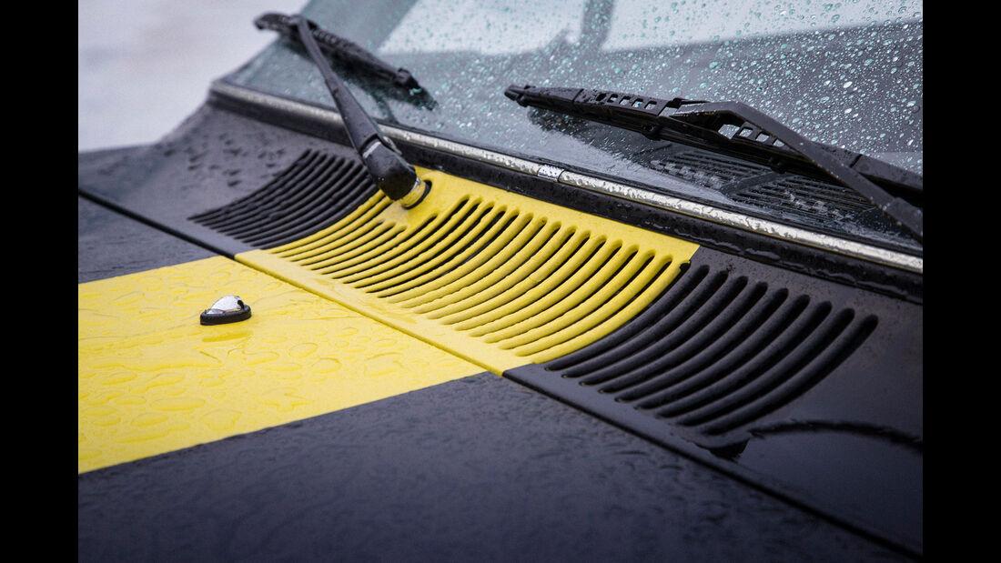 Opel Kadett B Coupé Rallye, Rallyestreifen