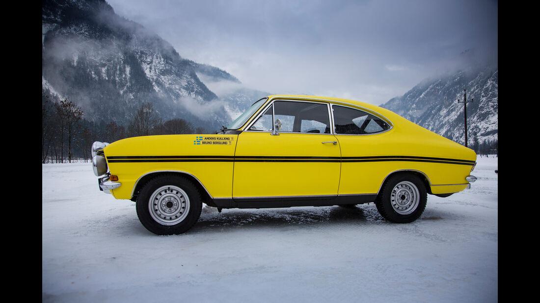 Opel Kadett B Coupé Rallye, Seitenansicht