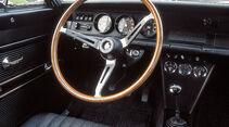 Opel Kadett B Rallye, Lenkrad, Cockpit