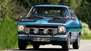 Opel Kadett B Rallye, Seitenansicht