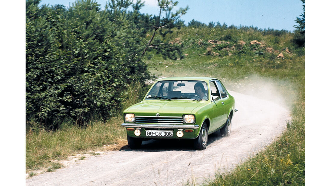Opel Kadett C, Front