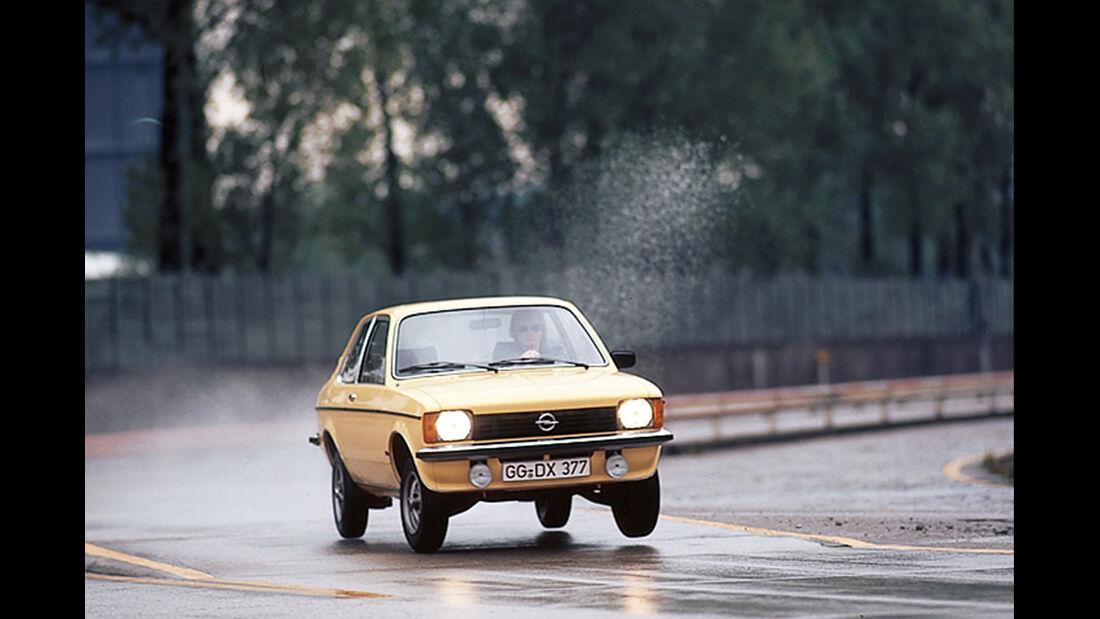 Opel Kadett C, Frontansicht