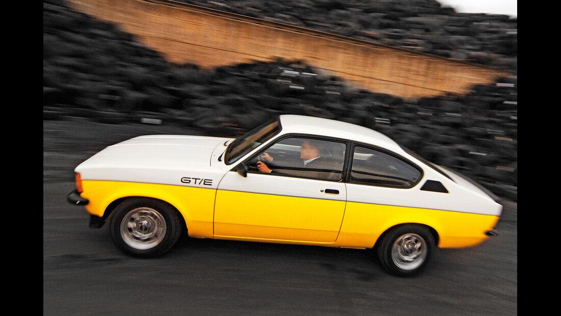 Opel Kadett C GT/E, Seitenansicht