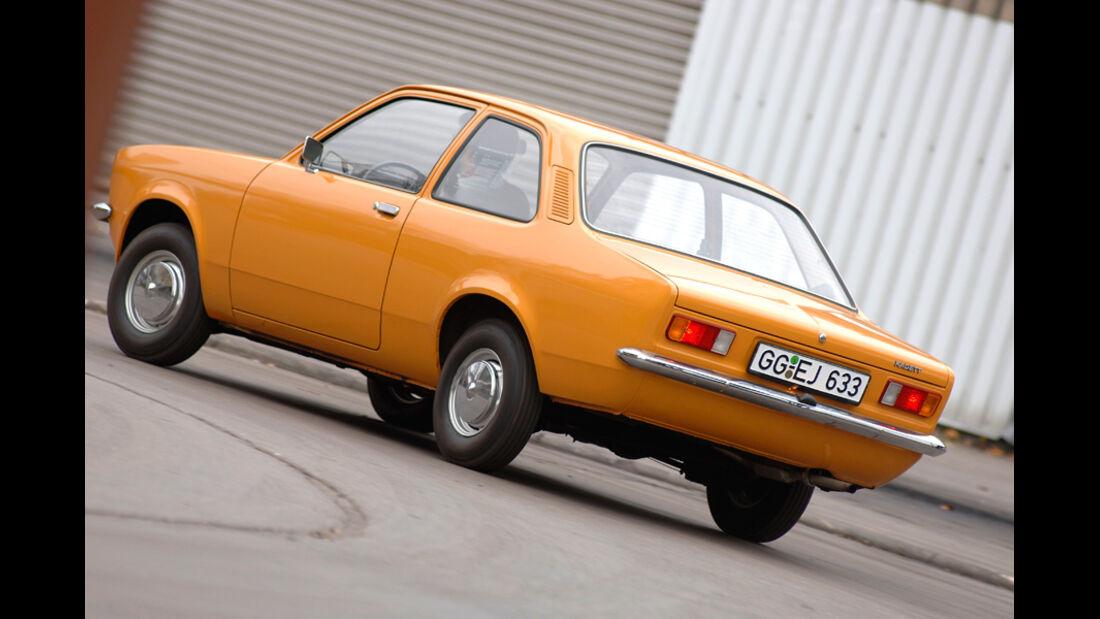 Opel Kadett C, Heck