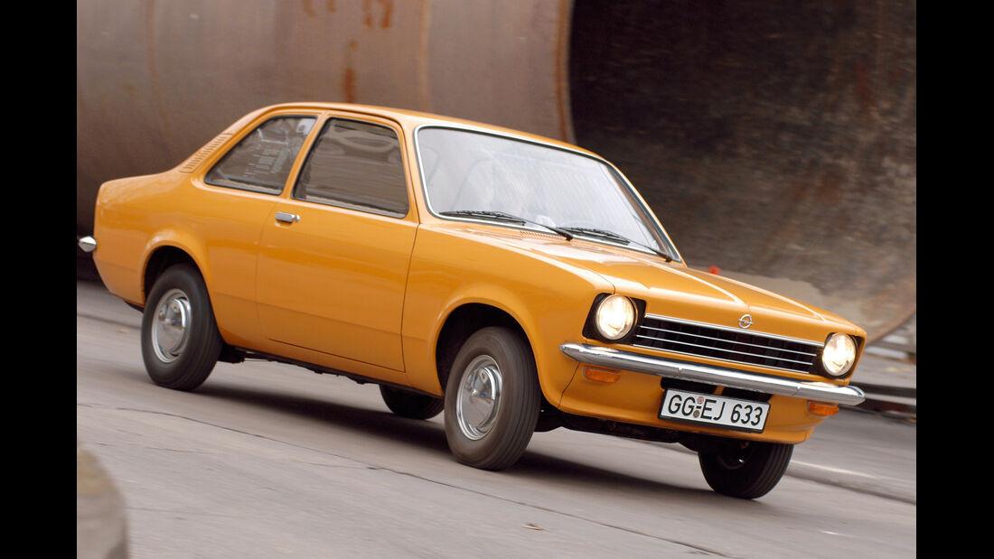 Opel Kadett C, Seitenansicht