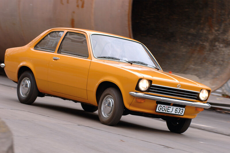 Opel Kadett C , Seitenansicht