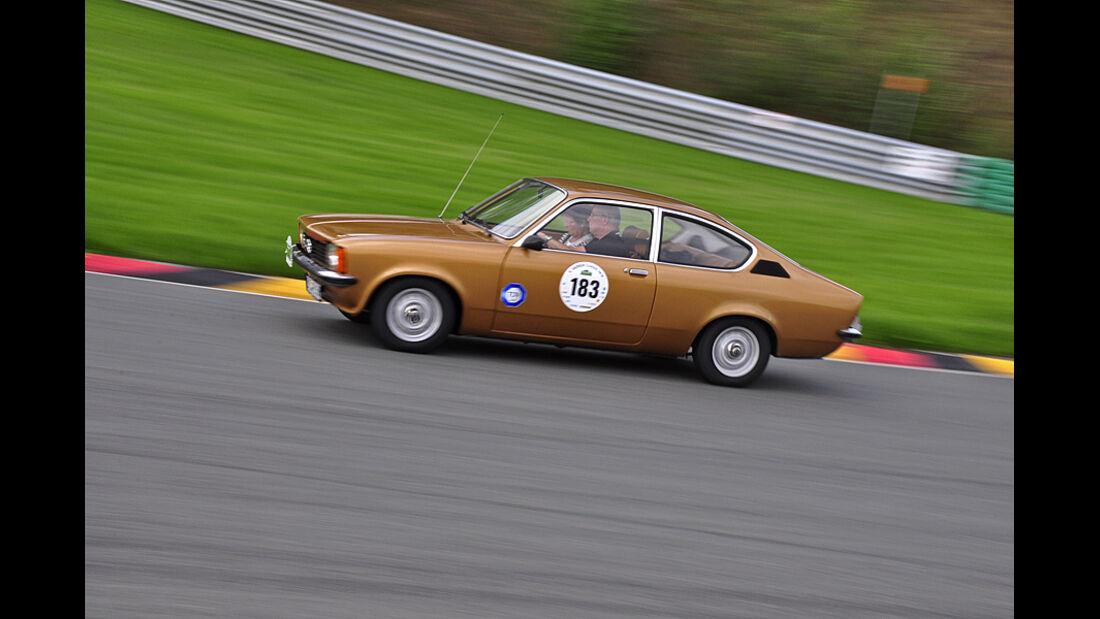 Opel Kadett C bei der Sachsen Classic 2010