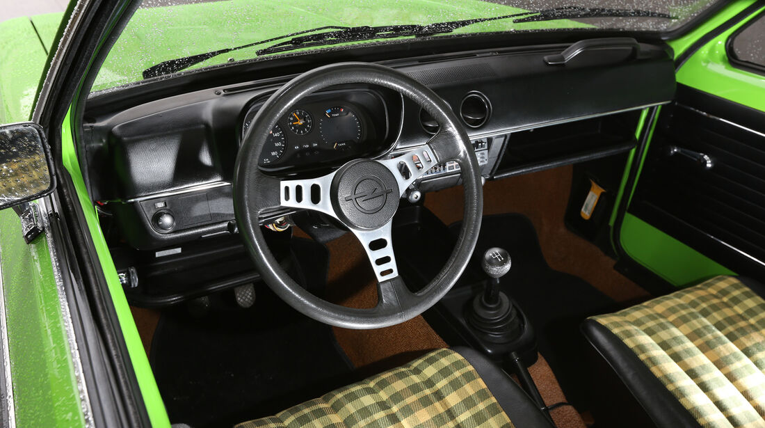 Opel Kadett City 1200, Cockpit