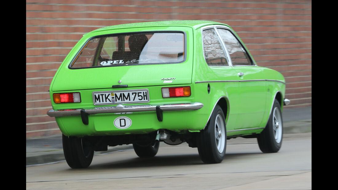 Opel Kadett City 1200, Heckansicht
