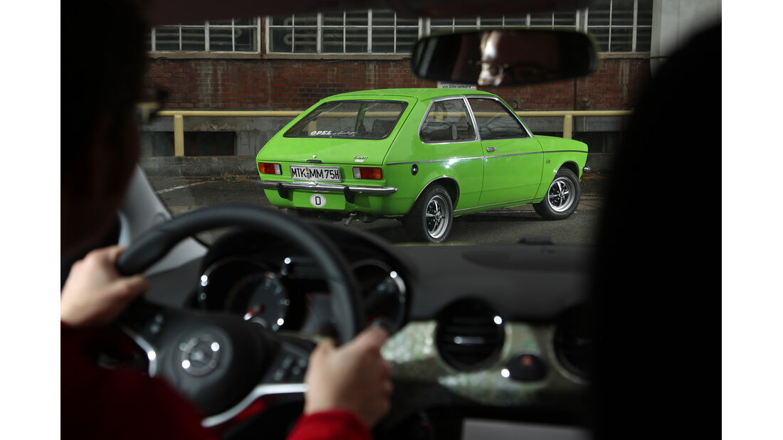 Opel Kadett City 1200, Opel Adam 1.4 Jam, Impression