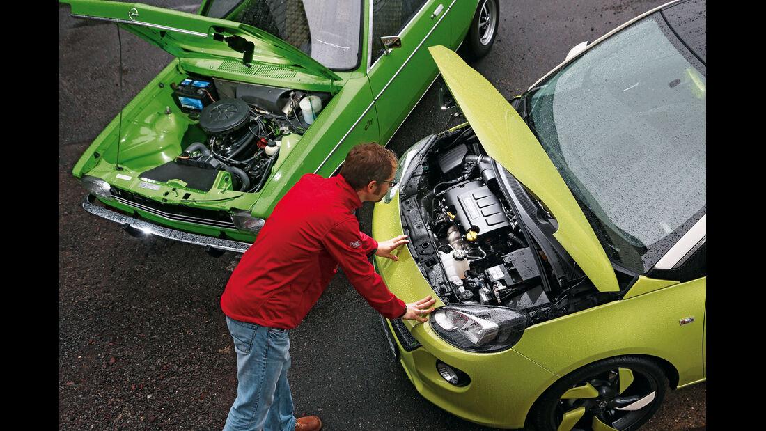 Opel Kadett City 1200, Opel Adam 1.4 Jam, Motoren
