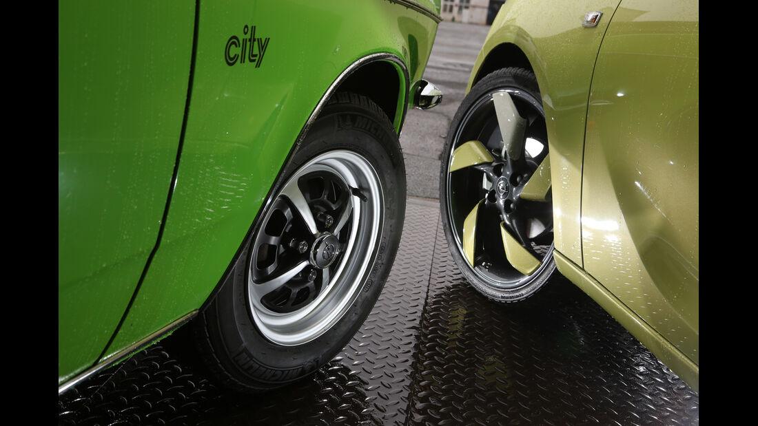 Opel Kadett City 1200, Opel Adam 1.4 Jam, Rad, Felge