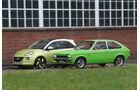 Opel Kadett City 1200, Opel Adam 1.4 Jam, Seitenansicht