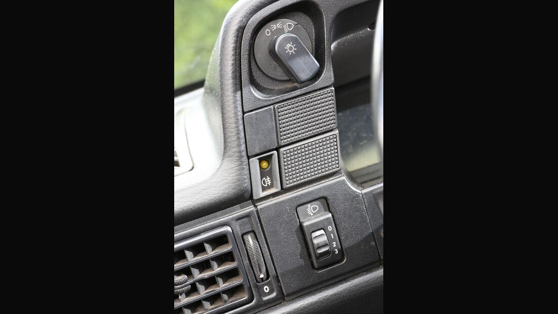 Opel Kadett E 2.0 GSi Cabriolet, Bedienelemente