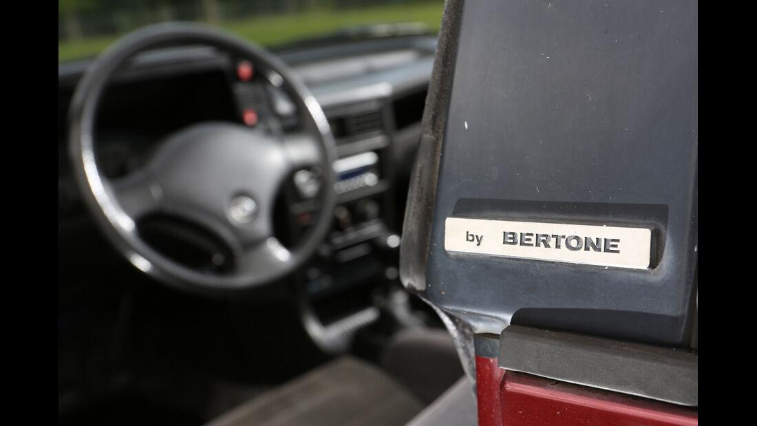 Opel Kadett E 2.0 GSi Cabriolet, Cockpit