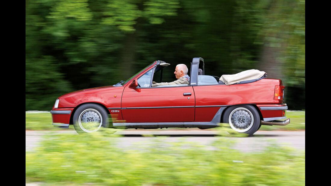 Opel Kadett E 2.0 GSi Cabriolet, Seitenansicht