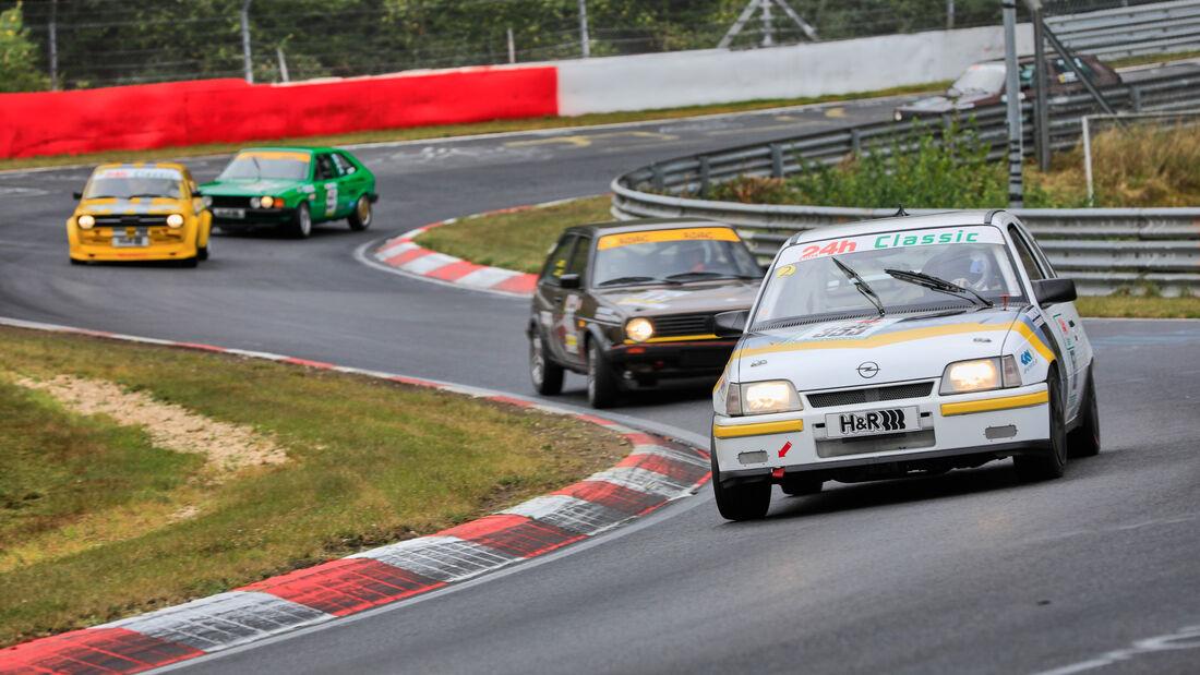 Opel Kadett E- Startnumer 353 - 24h Classic - 24h Rennen Nürburgring - Nürburgring-Nordschleife - 25. September 2020