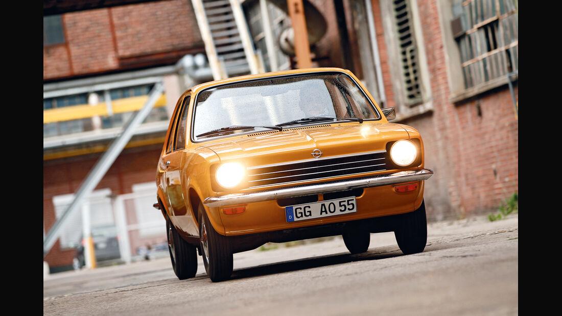 Opel Kadett, Frontansicht