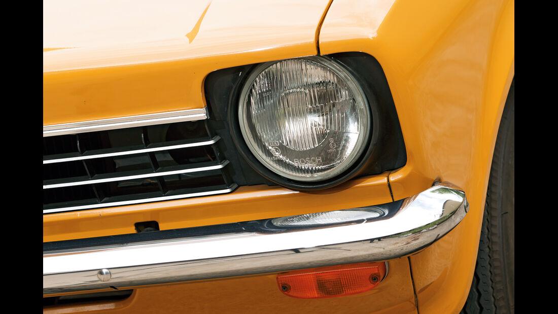 Opel Kadett, Frontscheinwerfer