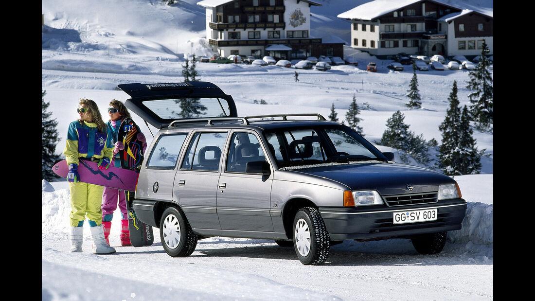 Opel Kadett GSi 16V, Frontansicht