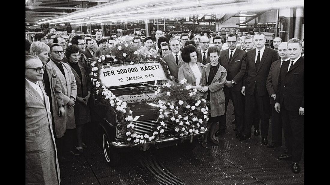 Opel, Kadett, IAA 1965