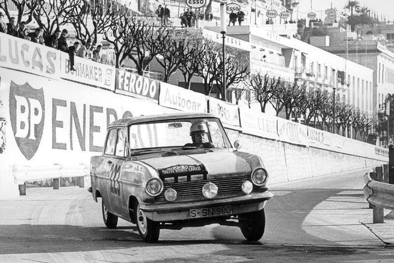 Opel Kadett - Monte Carlo