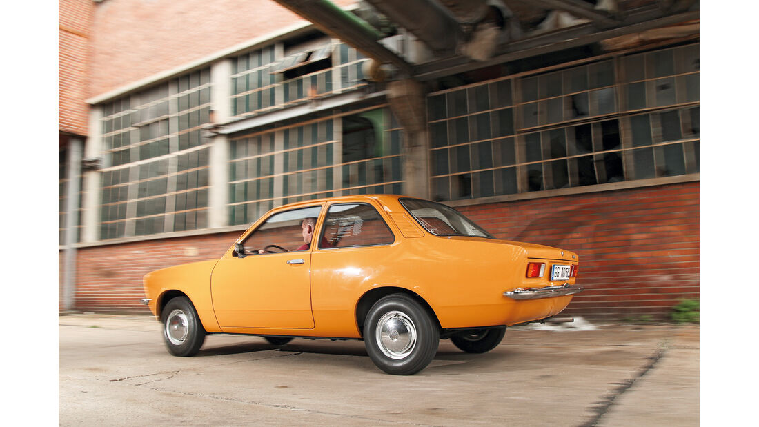 Opel Kadett, Seitenansicht